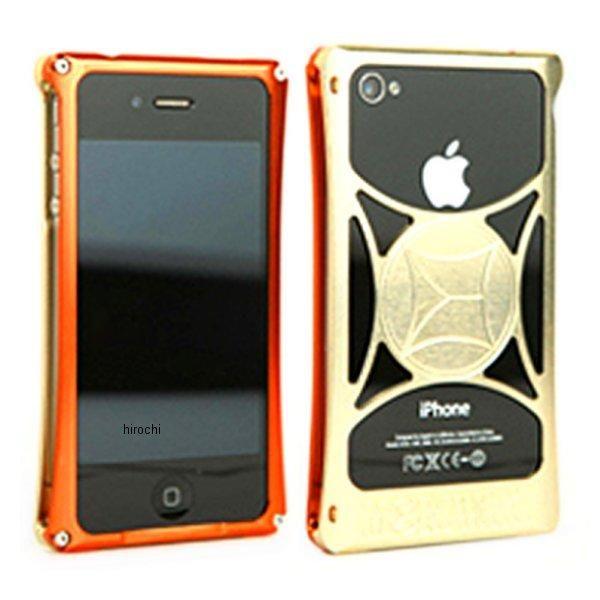 モリワキ iPhone4s、4用 ケース オレンジ/ゴールド 710-A01-0063 HD店