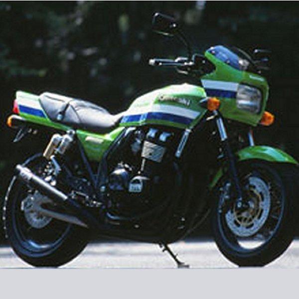 モリワキ ONE-PIECE BLACK フルエキゾースト 94年-97年 ZRX400 スチール 01810-40220-01 HD店