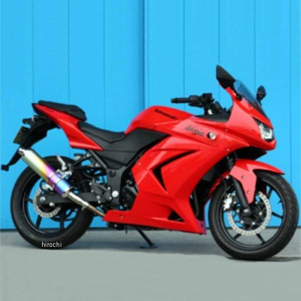 モリワキ ZERO ANO スリップオンマフラー 08年以降 Ninja250R ステンレス 01810-LK244-00 HD店
