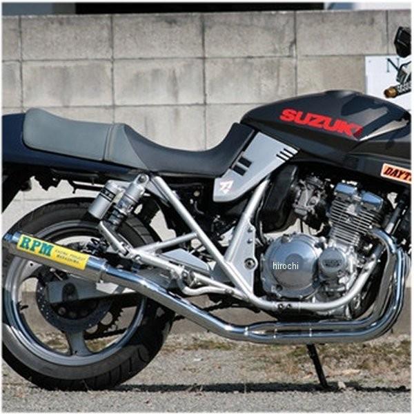 アールピーエム RPM フルエキゾースト 4in2in1 91年-99年 カタナ GSX400S アルミ 4016 HD店
