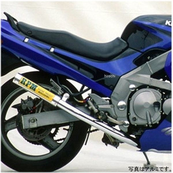 アールピーエム RPM フルエキゾースト 67レーシング 93年-00年 ZZR400 チタン 1666Y HD店