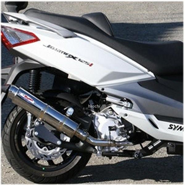 アールピーエム RPM フルエキゾースト 80D-RAPTOR JOYMAX125I LN12W-1 ステンレス 6046D HD店