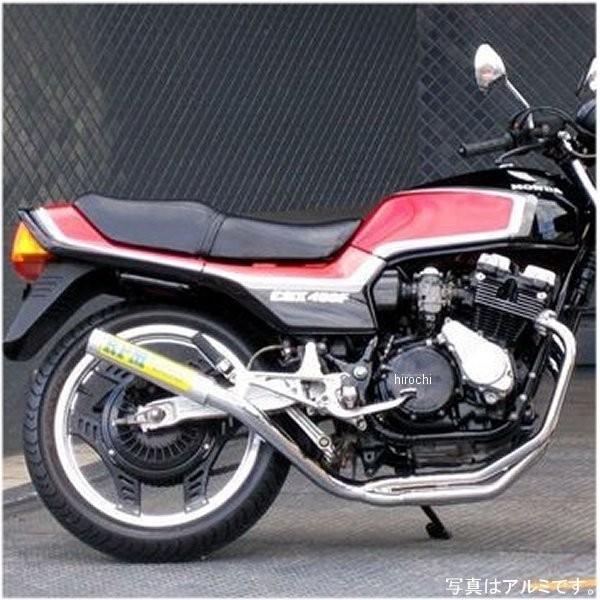 アールピーエム RPM フルエキゾースト 67レーシング 81年-87年 CBX400F、CBX400F2 ステンレス 2705S HD店