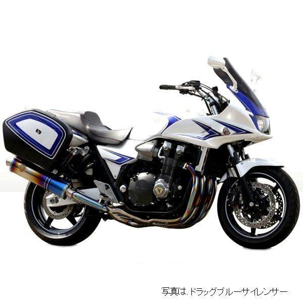 アールズギア r's gear フルエキゾースト ワイバン 10年以降 CB1300ST 真円チタン (デュアル) WH12-02TI HD店