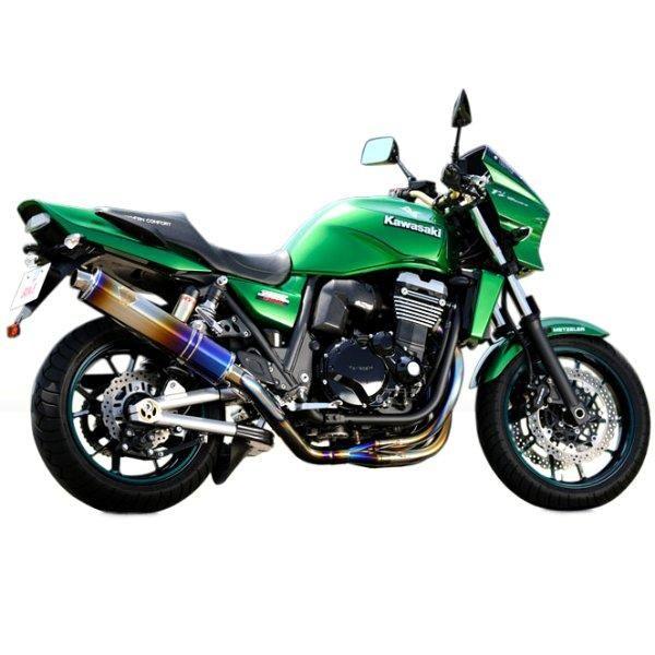 アールズギア r's gear フルエキゾースト ワイバン用 リペアサイレンサー 09年以降 ZRX1200DAEG 楕円ドラッグブルー WK15-01OD-XR HD店