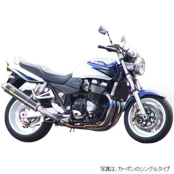 アールズギア r's gear フルエキゾースト ワイバン用 リペアサイレンサー 04年以前 GSX1400 真円ドラッグブルー (デュアル用 右側) WS01-02DB-XR HD店