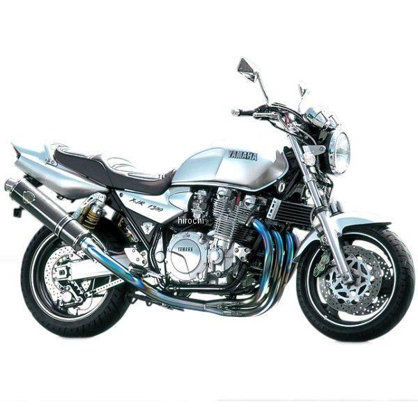 アールズギア r's gear フルエキゾースト ワイバン 4-1アップタイプ 94年-06年 XJR1300、XJR1200 真円カーボン WY01-UTCF HD店