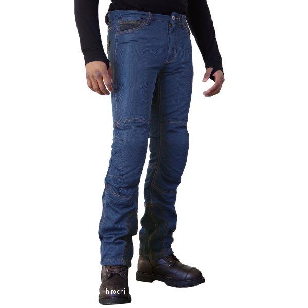 【メーカー在庫あり】 WJ-740R コミネ KOMINE 2018年春夏モデル ライディングメッシュジーンズ インディゴブルー XL/34サイズ 4573325731509 HD店
