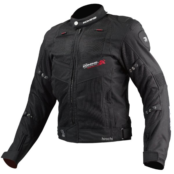 JJ-003 コミネ KOMINE 春夏モデル ツアラーメッシュジャケット レディース用 黒 WMサイズ 4573325733350 HD店