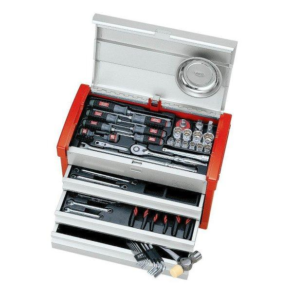 KTC 京都機械工具 工具セット(チェストタイプ) (58点) SK4580EZ-KC HD店