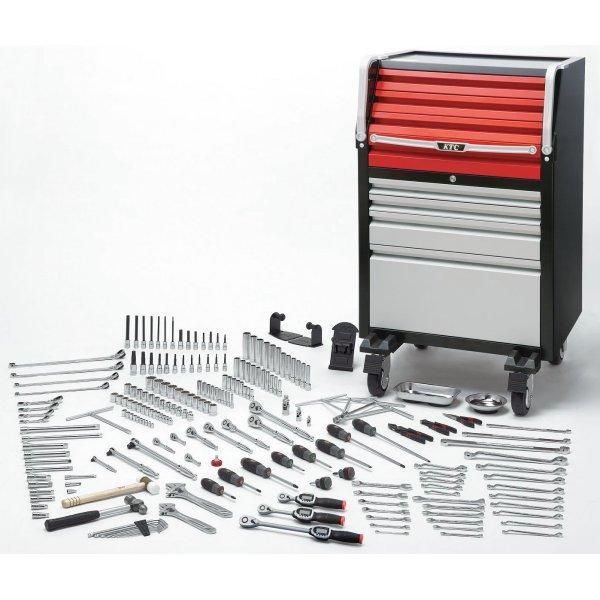 KTC 京都機械工具 【直送】 工具セット(ローラーキャビネットタイプ) (220点) SK8038EX-KC HD店