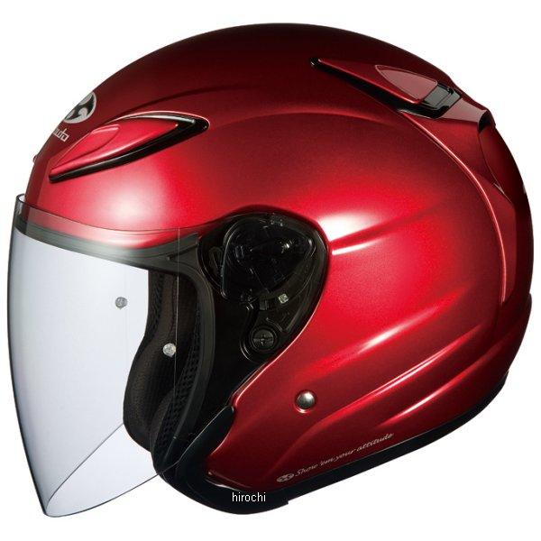 オージーケーカブト OGK Kabuto ヘルメット アヴァンド2 シャイニーレッド Lサイズ 4966094512385 HD店