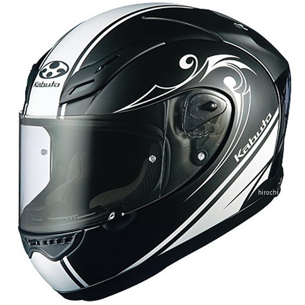 オージーケーカブト OGK Kabuto ヘルメット FF-5V ワークス 黒(つや消し) XXLサイズ 4966094516055 HD店