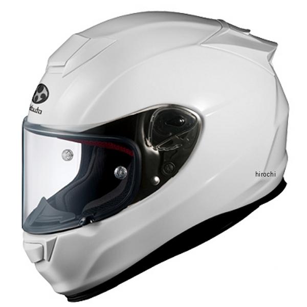 【メーカー在庫あり】 オージーケーカブト OGK Kabuto ヘルメット RT-33 ホワイト Mサイズ 4966094539238 HD店