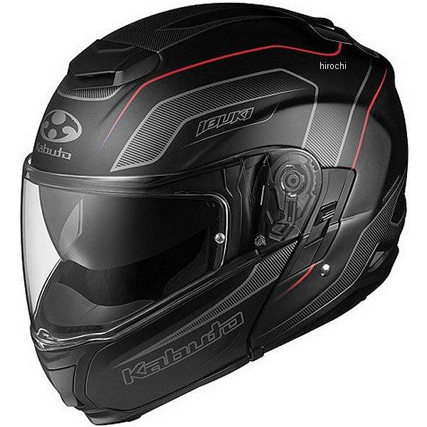 オージーケーカブト OGK KABUTO フルフェイスヘルメット IBUKI ENVOY フラットブラックレッド XSサイズ 4966094560393 HD店
