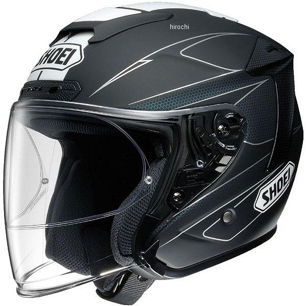 【メーカー在庫あり】 ショウエイ SHOEI ジェットヘルメット J-FORCE 4 MODERNO TC-5 黒/白 Mサイズ 4512048453541 HD店