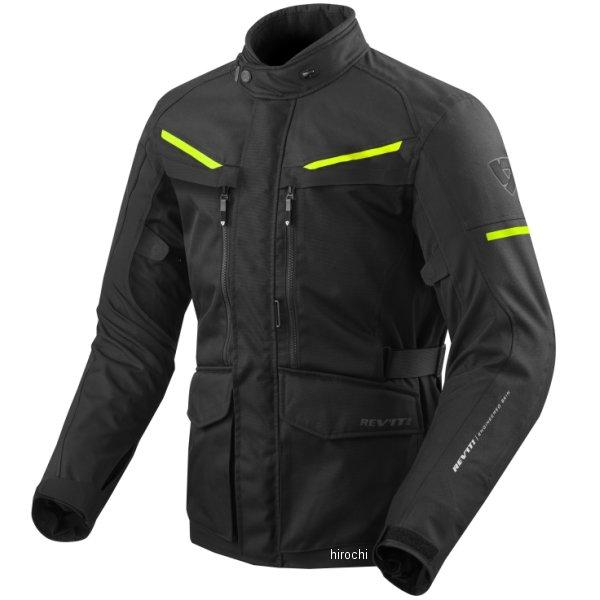 レブイット REVIT テキスタイルジャケット サファリ3 黒/ネオンイエロー Lサイズ FJT240-1450-L HD店