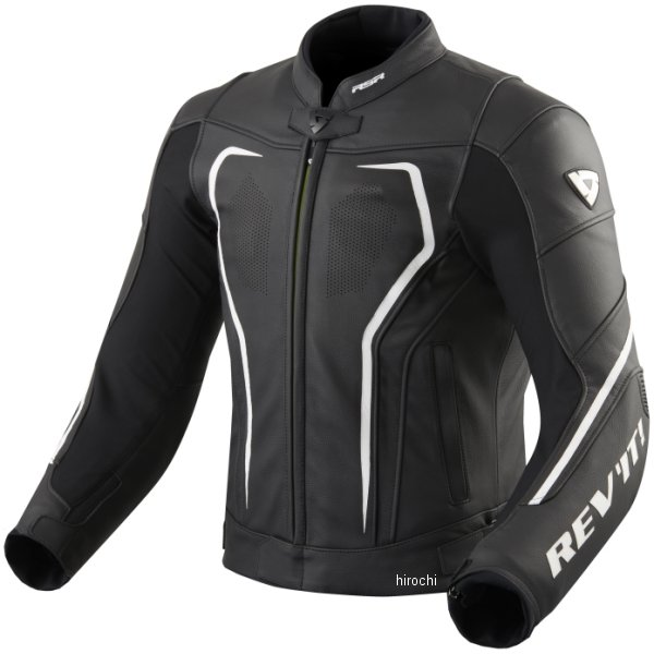 レブイット REVIT レザージャケット ヴェルテクスGT 黒/白 M48サイズ FJL097-1600-M48 HD店