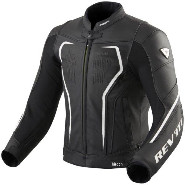 レブイット REVIT レザージャケット ヴェルテクスGT 黒/白 M52サイズ FJL097-1600-M52 HD店