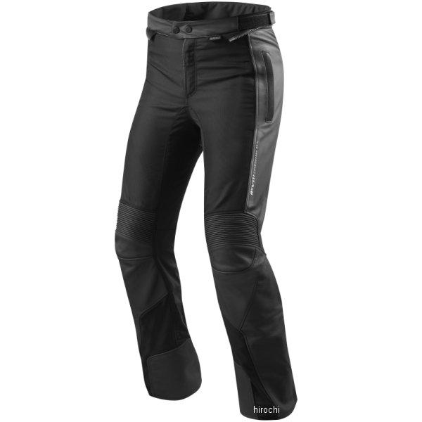 レブイット REVIT レザートラウザーズ イグニッション3 黒 M50サイズ ショート FPL034-1012-M50 HD店