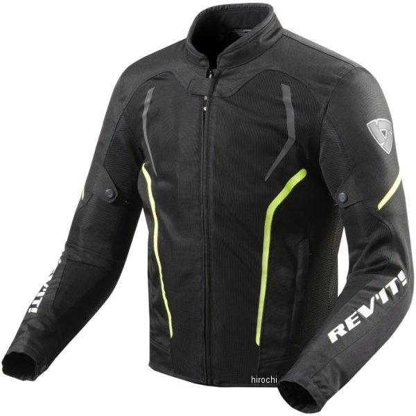 レブイット REVIT テキスタイルジャケット GT-Rエア2 黒/ネオンイエロー Lサイズ FJT242-1450-L HD店