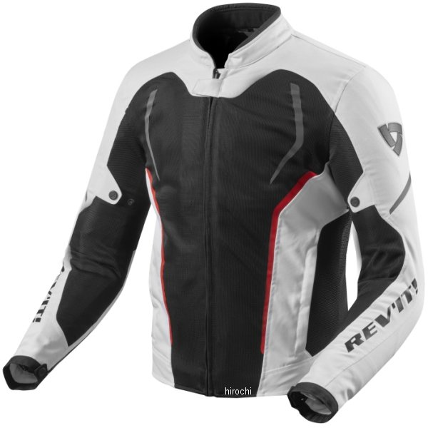 レブイット REVIT テキスタイルジャケット GT-Rエア2 白/黒 Lサイズ FJT242-3050-L HD店