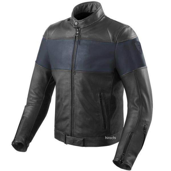 レブイット REVIT レザージャケット ノヴァビンテージ 黒/青 M52サイズ FJL092-1830-M52 HD店