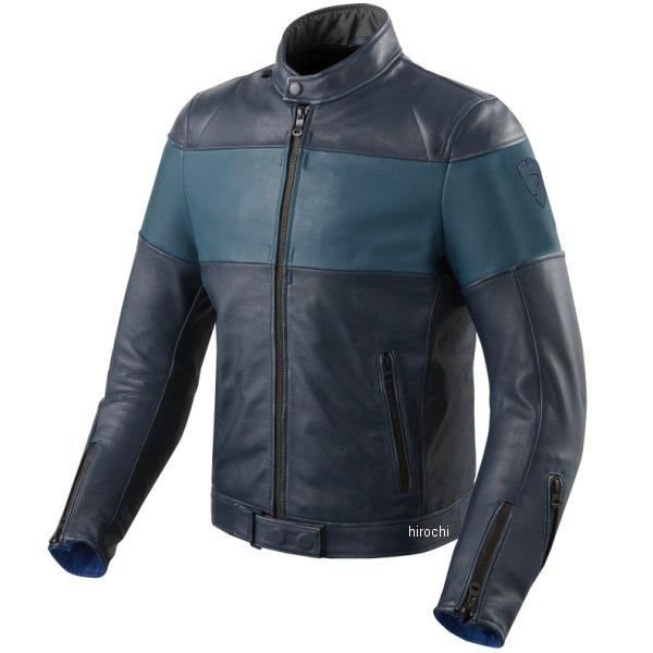 レブイット REVIT レザージャケット ノヴァビンテージ 青 M46サイズ FJL092-2230-M46 HD店
