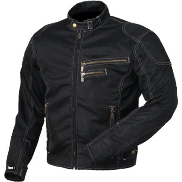 ラフ&ロード ライディングZIPメッシュジャケット 黒 LLサイズ RR7313BK4 HD店