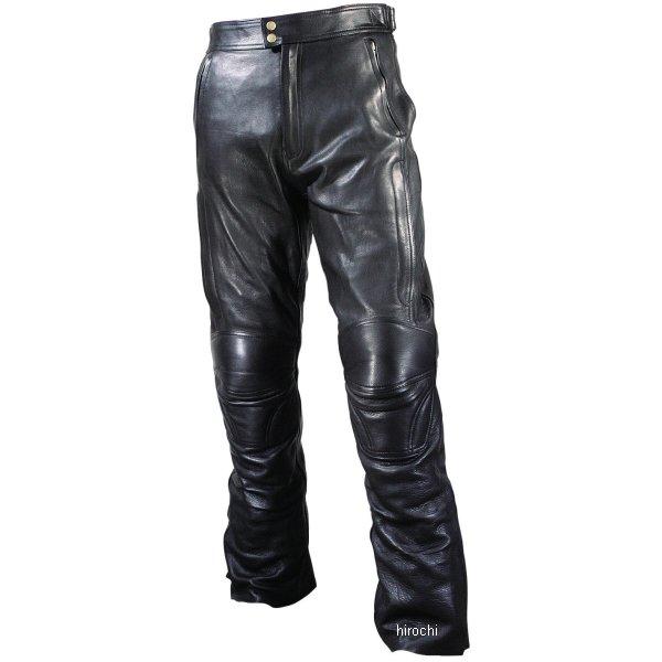 ラフ&ロード ツーリングレザーパンツ ルーズフィット 黒 LWサイズ RA5003LFBK3 HD店