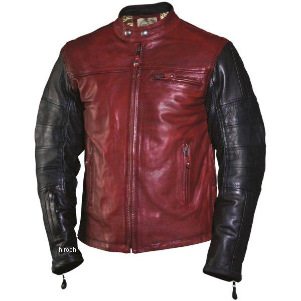 【USA在庫あり】 ローランドサンズデザイン (RSD) レザージャケット RONIN 赤/黒 Sサイズ RD7013 HD