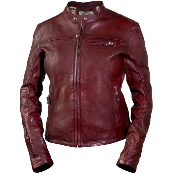 ローランドサンズデザイン RSD レザージャケット 女性用 Maven OxbLood Lサイズ RD7163 HD店