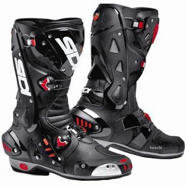 シディー SIDI ヴォルティス AIR ブーツ 黒/黒 43サイズ 27cm 4950545223180 HD店