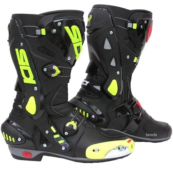 シディー SIDI ヴォルティス AIR ブーツ 黒/黄 43サイズ 27cm 4950545223326 HD店