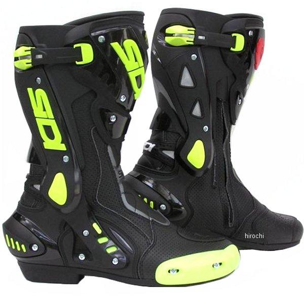シディー SIDI ST ブーツ 黒/黄 42サイズ 26.5cm 4950545223388 HD店