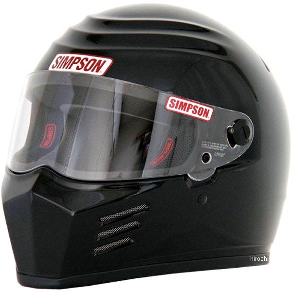 3304116100 シンプソン SIMPSON ヘルメット アウトロー 黒 61cm 4562363240821 HD店