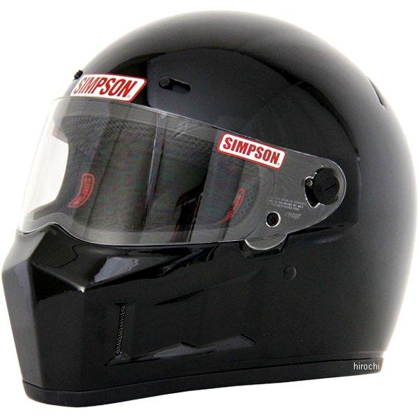 3303115900 シンプソン SIMPSON ヘルメット スーパーバンディット 13 黒 59cm 4562363241095 HD店