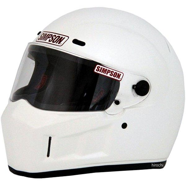 3303106100 シンプソン SIMPSON ヘルメット スーパーバンディット 13 白 61cm 4562363241149 HD店
