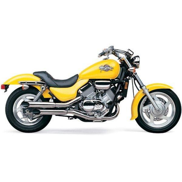 【USA在庫あり】 コブラ COBRA スリップオンマフラー スラッシュカット 94年-03年 マグナ VF750C 081175 HD