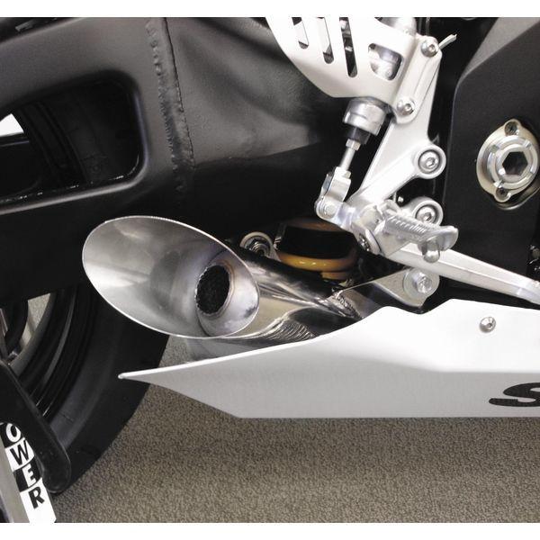 【USA在庫あり】 ホットボディーズ Hotbodies Racing スリップオンマフラー メガホン スラッシュカット 05年-06年 GSX-R1000 ポリッシュ 207795 HD