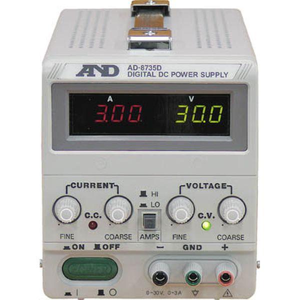 【メーカー在庫あり】 (株)エー・アンド・デイ A&D 直流安定化電源トラッキング動作可能LEDデジタル表示 AD8735D HD