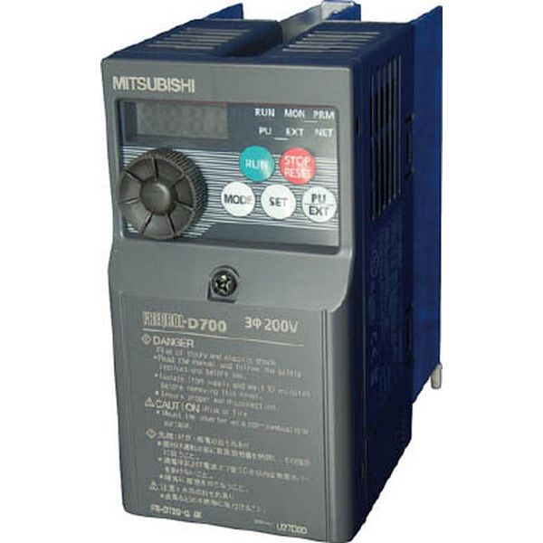 【メーカー在庫あり】 FRD7200.4K 三菱電機(株) 三菱電機 汎用インバータ FREQROL-D700シリーズ FR-D720-0.4K HD店