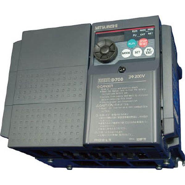 【メーカー在庫あり】 FRD7203.7K 三菱電機(株) 三菱電機 汎用インバータ FREQROL-D700シリーズ FR-D720-3.7K HD