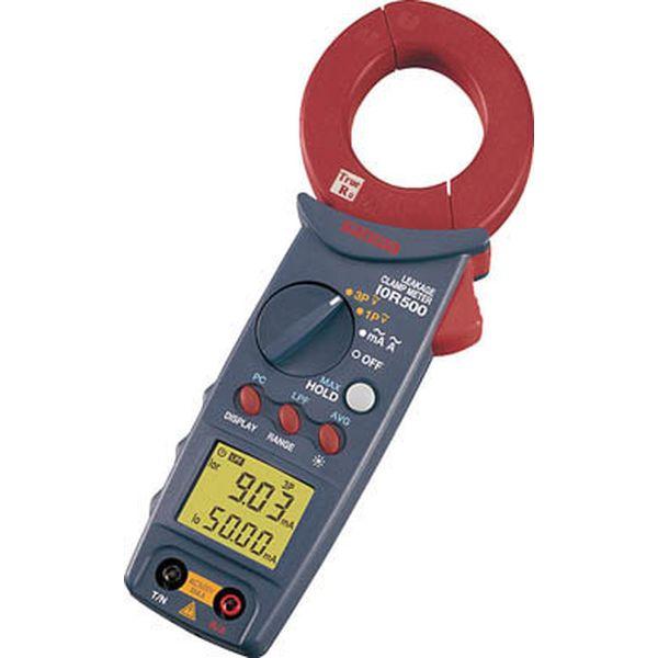 三和電気計器(株) SANWA アイゼロアールリーククランプメータ I0R500 HD