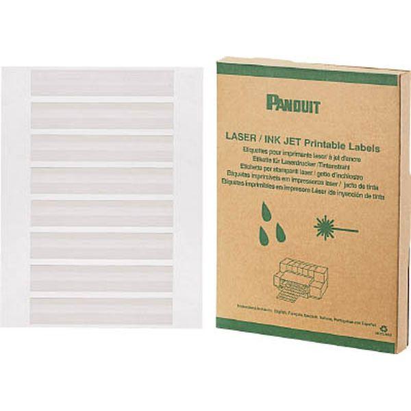 【メーカー在庫あり】 パンドウイットコーポレーション パンドウイット レーザープリンタ用回転ラベル 白 R050X075X1J HD