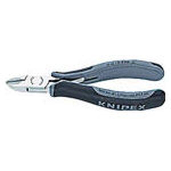【メーカー在庫あり】 KNIPEX社 KNIPEX 超硬刃エレクトロニクスニッパー 7702-120HESD HD