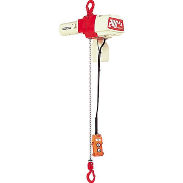 【メーカー在庫あり】 (株)キトー キトー セレクト 電気チェーンブロック 2速 60kg(ST)x3m ED06ST HD
