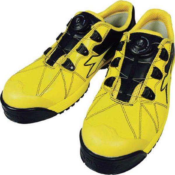 ドンケル(株) ディアドラ DIADORA安全作業靴 フィンチ 黄/黄/黒 24.5cm FC552-245 HD