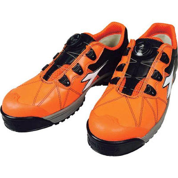 ドンケル(株) ディアドラ DIADORA安全作業靴 フィンチ 橙/白/黒 24.5cm FC712-245 HD
