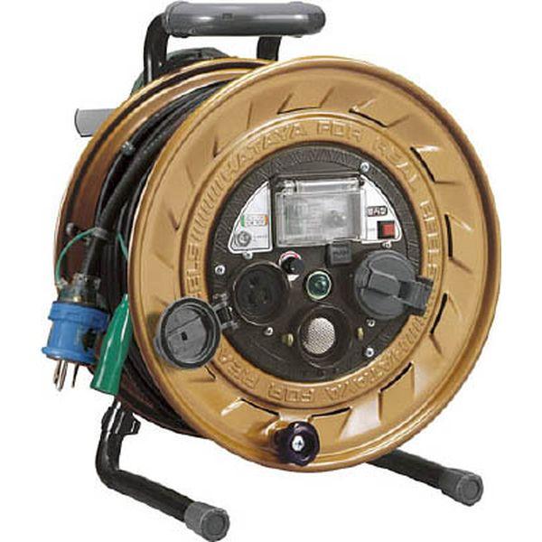 【メーカー在庫あり】 (株)ハタヤリミテッド ハタヤ メタルセンサーリール 単相100V接地付 30m 接地抵抗可変式 MSB-301KVX HD